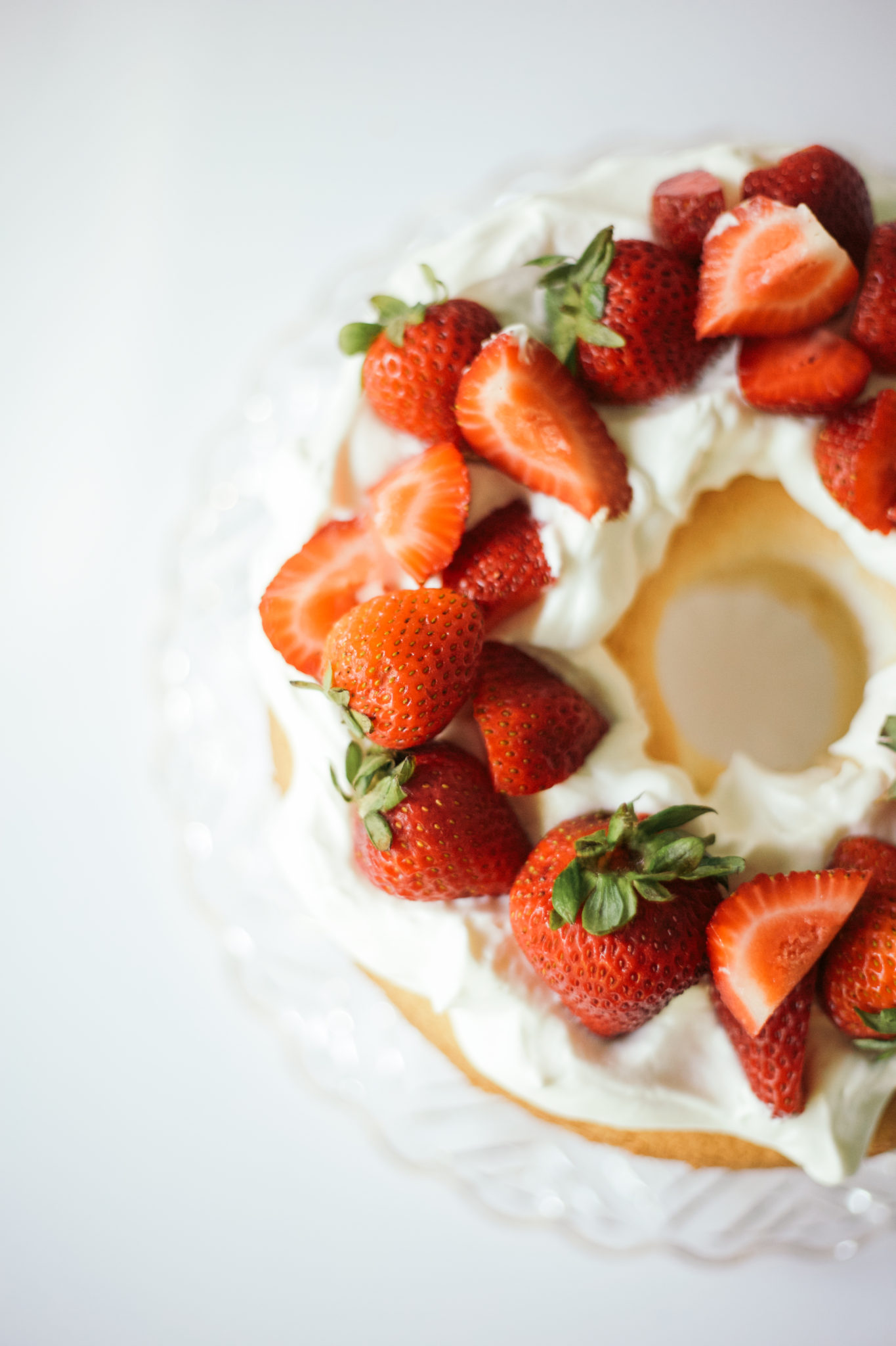 The Greatest Homemade Angel Food Cake