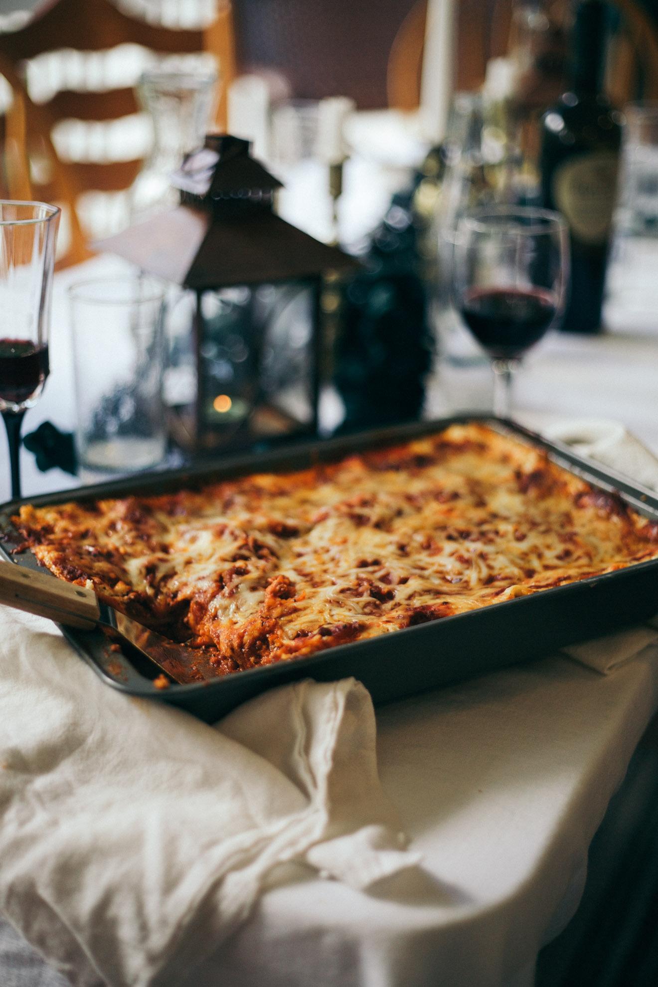 delicious lasagna recipe