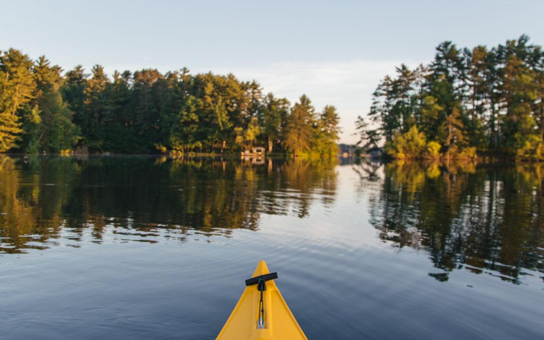 Sunrise Kayak on Lake Nokomis