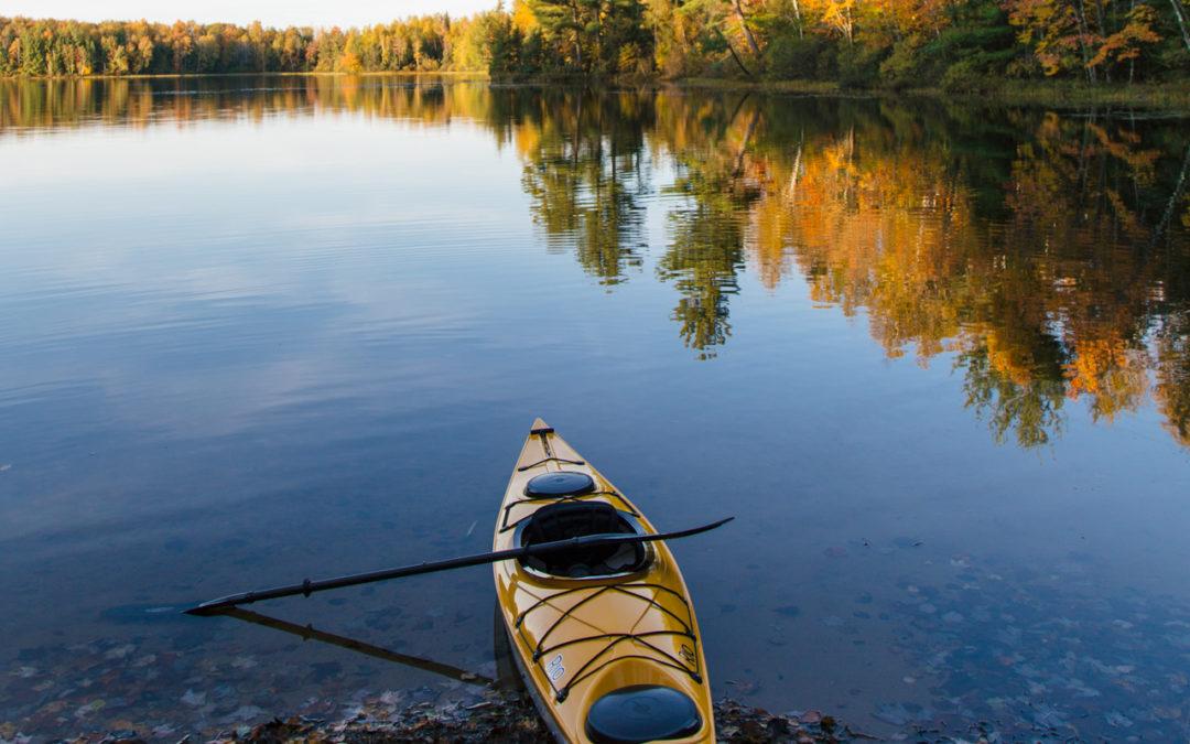 Kayaking Through The Fall Colors