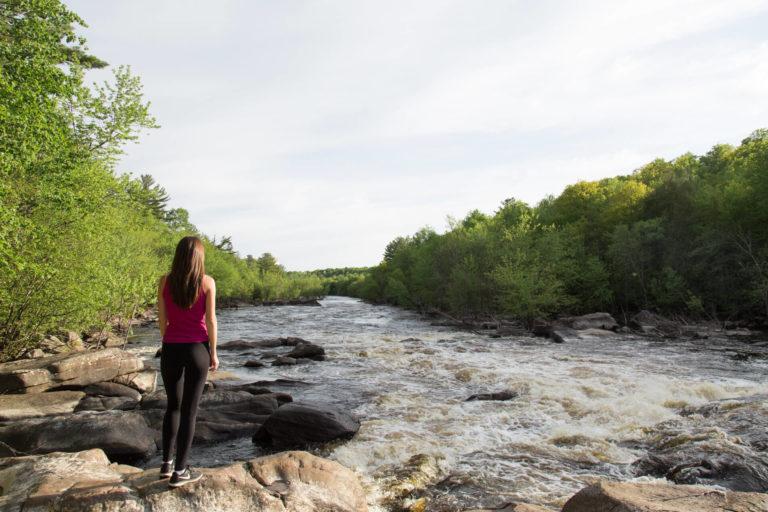 miss northerner at grandfather falls