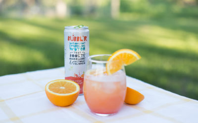 A Refreshing Summertime Drink with BUBBL'R