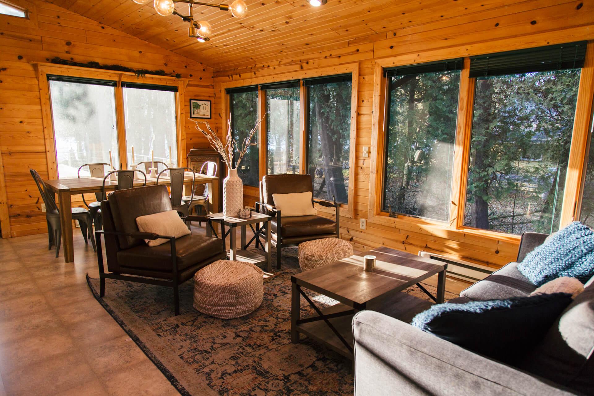 cabins on clark lake door county wisconsin