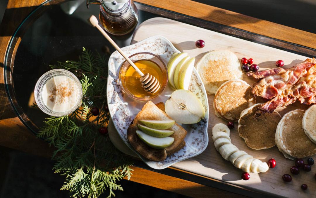Holiday-Themed Kwik Trip Breakfast Board