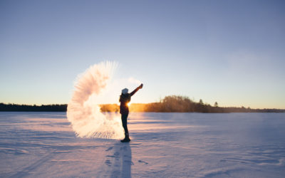 How to Turn Boiling Water into Snow